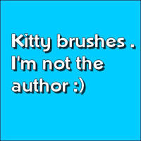 Kitty brushes by Johhy