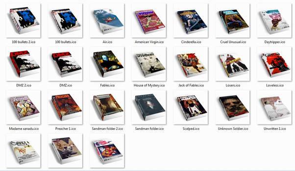 Comic Book Icons for Vertigo