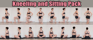 Kneeling and Sitting Stock Pack