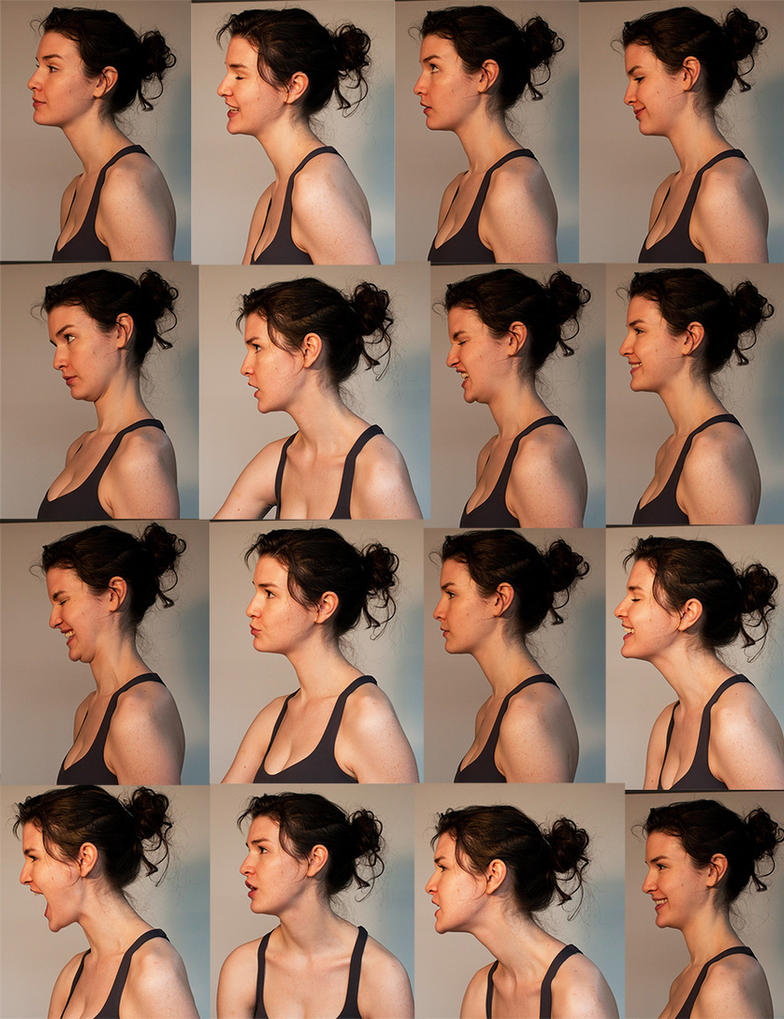 Expressions in Profile Stock Pack by RobynRose