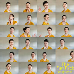 The Fun Pack - 23 FREE Dynamic Facial Expressions