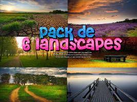 Pack de 6 Landscapes by welovefamous