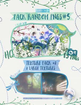 Pack Random PNGs 5 + Texture Pack 2