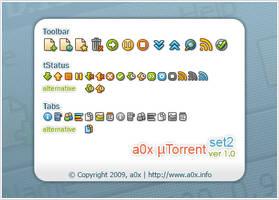 a0x uTorrent set2 1.0 by a0x