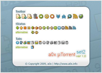 a0x uTorrent set2 1.0