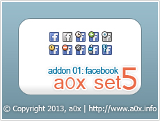 a0x set5 - addon01: Facebook by a0x