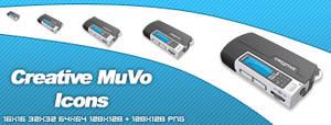 Creative MuVo Icons