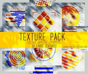 Golden Sapphire Ornaments | Texture Pack by LeukojaPS