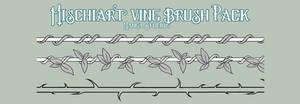 Custom Manga Studio Brush Pack: Vines
