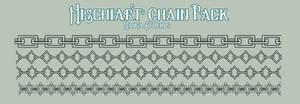 Custom Manga Studio Brush Pack: Chain Brushes