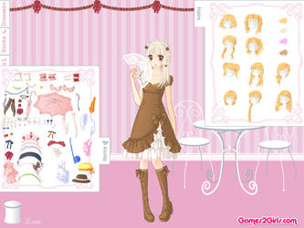 Sweet Lolita Dress Up Game by Lina01