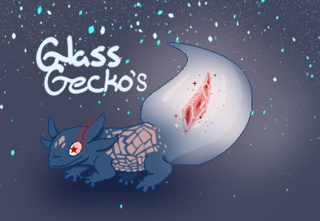Glass Gecko Animated Red Rock Snooter By Misslexidoodles On