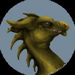 Pern: Dragon Portrait (F2U Coloring Base) by Grace-Dupre