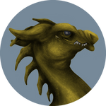 Pern: Dragon Portrait (F2U Coloring Template)