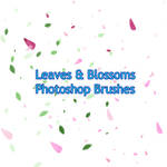 Leaves and blossoms PS brushes