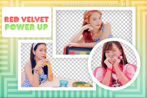 [PNG Pack] Power Up - Red Velvet by PufffyCake
