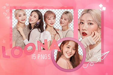 [PNG Pack] Loona by PufffyCake