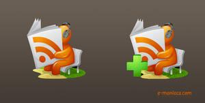 E-maniacs rss free icons