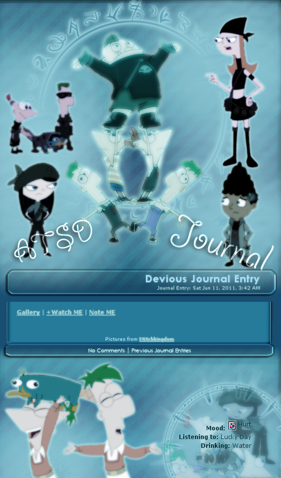 ATSD Journal skin 2 by DBluver