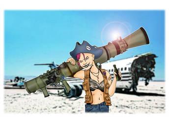 Tank Girl by Matttowler