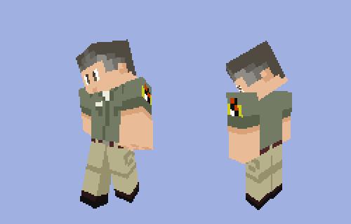 Minecraft Dr. Gerry Harding by randomguy123456