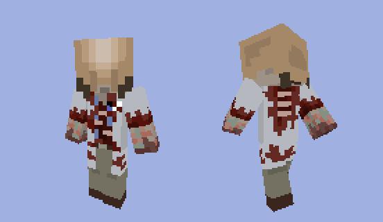 Minecraft Half-Life Zombie by randomguy123456