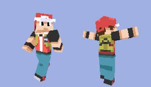 Minecraft Pokemon Red
