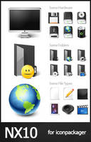 NX10 for IconPackager by anthonium
