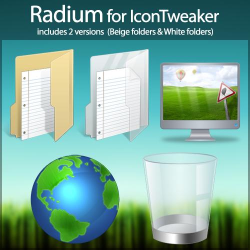 Radium for IconTweaker by anthonium