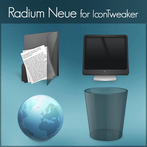 Radium Neue for IconTweaker by anthonium