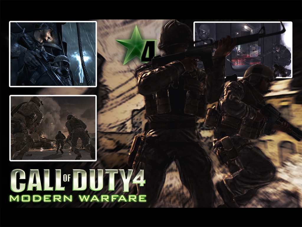Call Of Duty 4 Wallpaper By Pl3ch4c On Deviantart