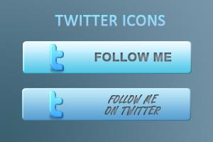 Twitter Blog Icon by Heinzefilm