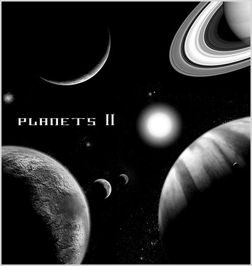 Planets II - Photoshop Brushes