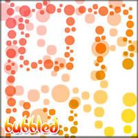 Bubbled Photoshop Brushes by Sunira