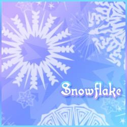 Snowflakes - 10 Brushes by Sunira