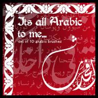 Its all Arabic to Me Brush Set by Sunira