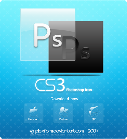 Photoshop CS3 icons by Plexform