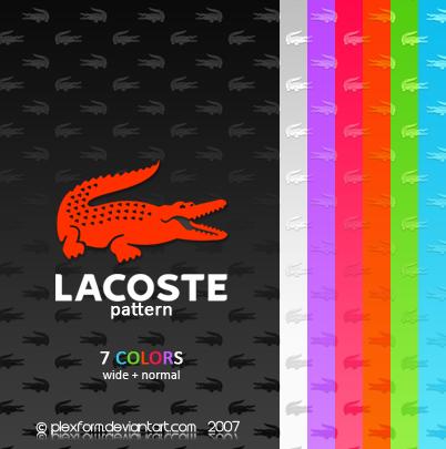 Lacoste Pattern by Plexform