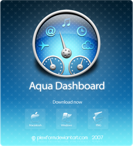Aqua Dashboard by Plexform