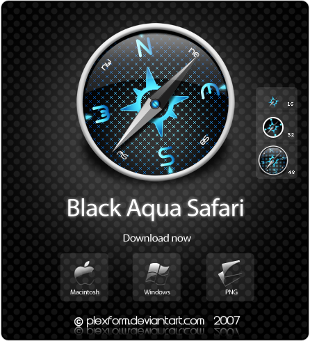 Black Aqua Safari
