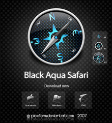 Black Aqua Safari by Plexform