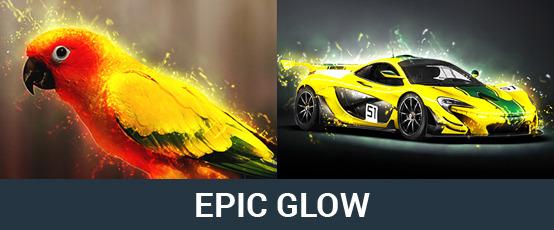 Epic Glow Photoshop Action by AFZAALKIAMKHANI