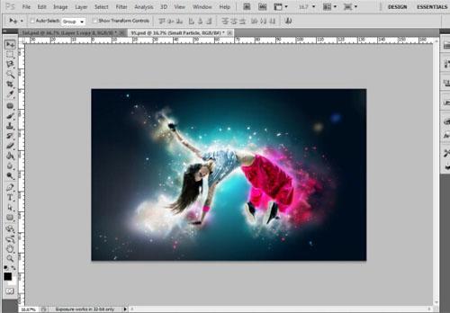 Galaxy Ray Photoshop Action by AFZAALKIAMKHANI