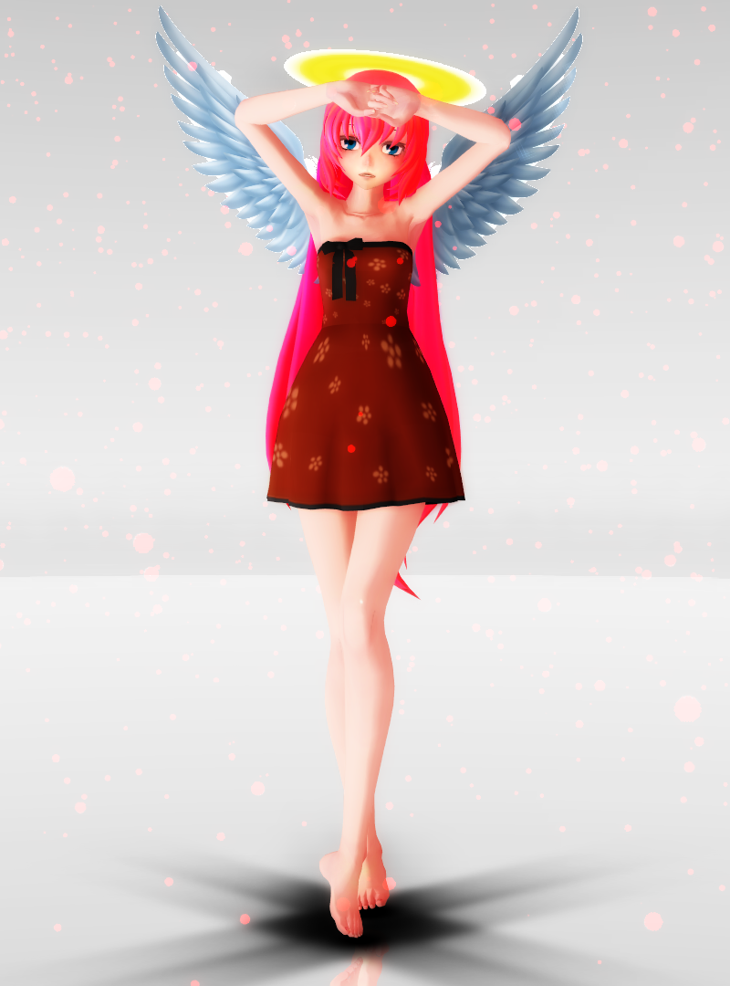 MMD Newcomer: Angel Luka (DOWNLOAD) by PrincessSkyler on