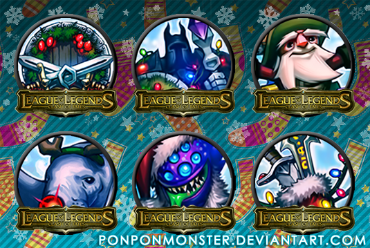 Christmas Icons League Of Legends