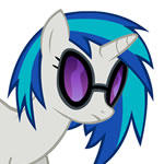Vinyl Scratch Headbang HD