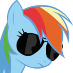 Rainbow Glasses Headbang HD by nomorethan9