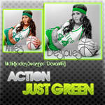 Action Just Green