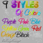 Styles Of Colors