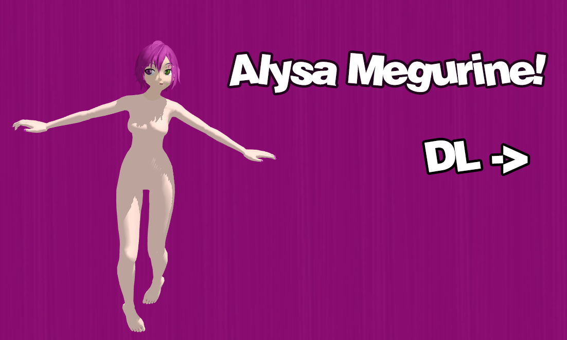 Alysa Megurine - Download by NekoSeeyuNya